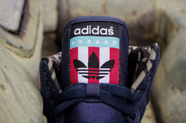 Packer Shoes x adidas Originals Conductor Hi 'New Jersey Americans'