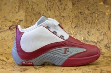 Reebok Answer IV 'White/Red-Flat Grey' at Packer Shoes