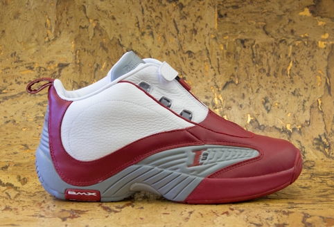 3c39dc6a397 Reebok Answer IV  White Red-Flat Grey  at Packer Shoes
