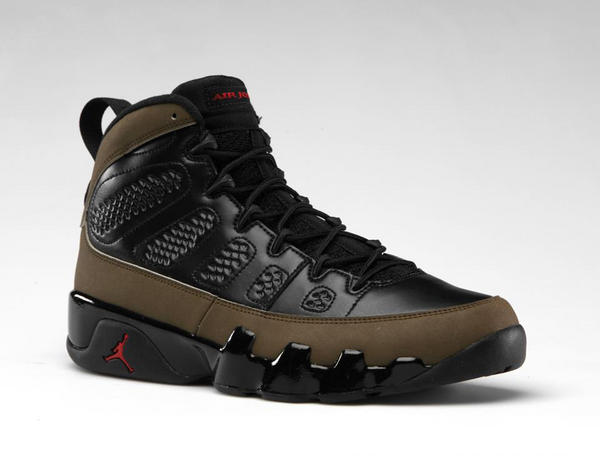 Release Reminder: Air Jordan IX (9) 'Olive'