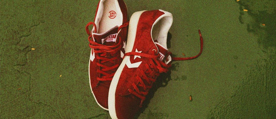 Release Reminder: CLOT x Converse First String Pro Leather Ox