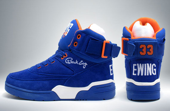 Release Reminder: Ewing 33 Hi 'Blue Suede'