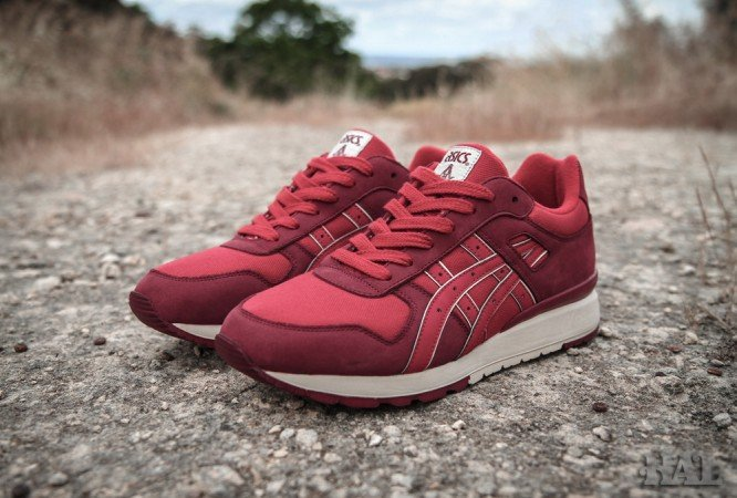 Release Reminder: Highs and Lows x ASICS GT II 'Bricks'