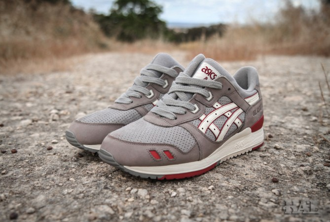 Release Reminder  Highs and Lows x ASICS Gel Lyte III  Mortar ... 2717dfcab5f3