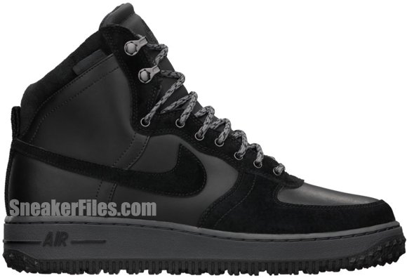 Release Reminder: Nike Air Force 1 High Deconstructed Military Boot 'Black'