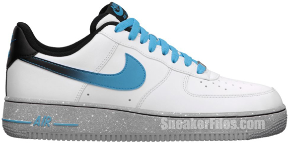 Release Reminder: Nike Air Force 1 Low 'White/Current Blue'