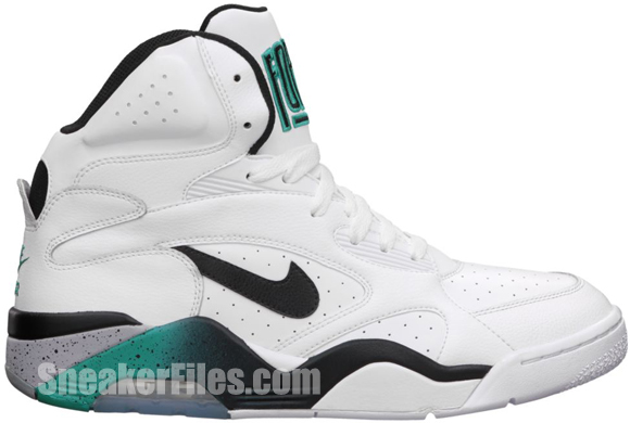 Release Reminder: Nike Air Force 180 High 'Blue Emerald'