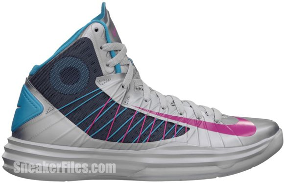 super popular 6e4db f790a Release Reminder  Nike Hyperdunk+ Sport Pack  Wolf Grey Fireberry-Dynamic  Blue-
