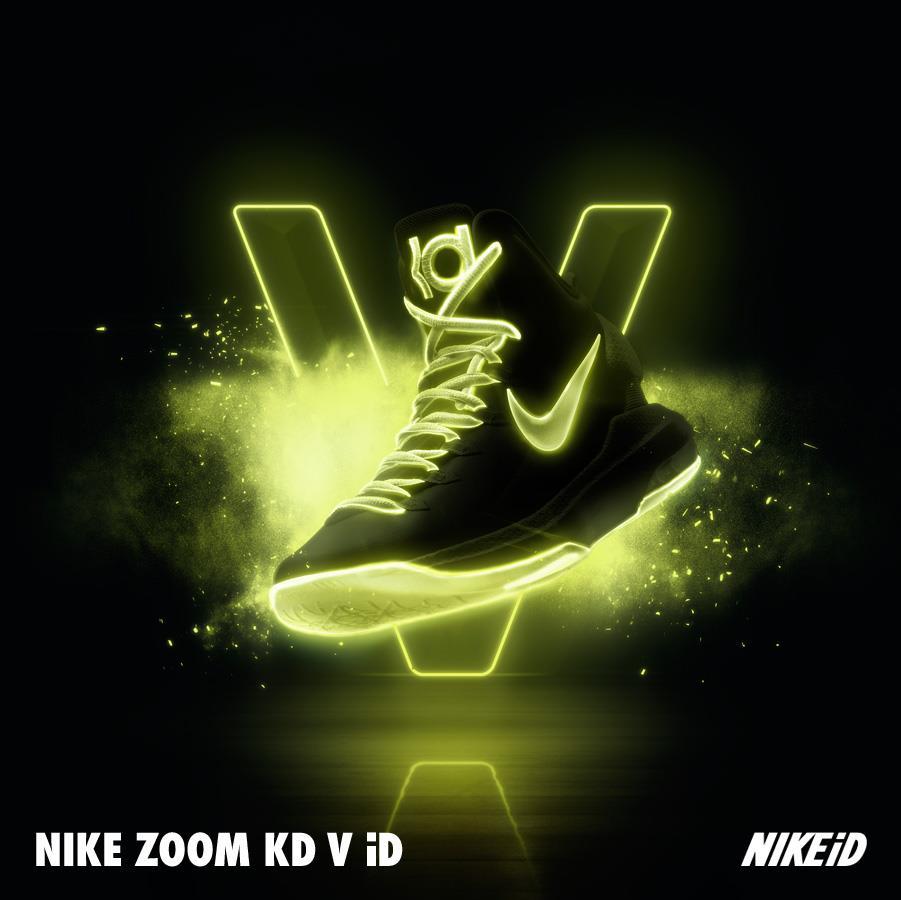 Release Reminder: Nike KD V (5) iD