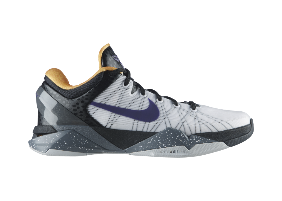 Release Reminder: Nike Kobe VII (7) 'White/Court Purple-Black-University Gold'