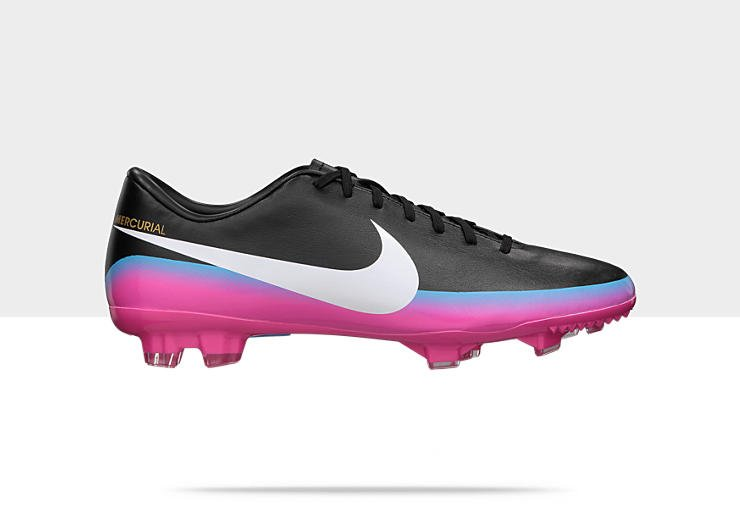 Release Reminder: Nike Mercurial Victory III CR FG 'Black/White-Blue Glow-Pink Flash'