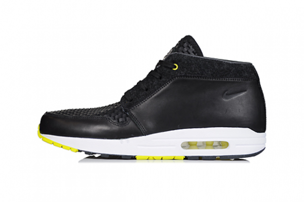 Release Reminder: Nike Wardour Max 1 Premium NRG 'Black/Black-Anthracite-Sonic Yellow'