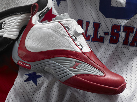Release Reminder: Reebok Answer IV 'White/Red/Flat Grey'