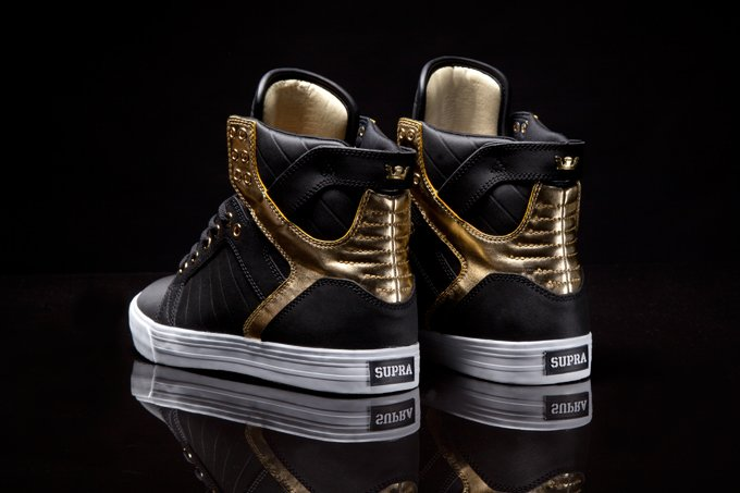 Supra Presents the Black and Gold Skytop