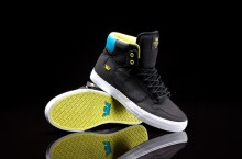 Supra Vaider 'Black/Yellow-Turquise-White'