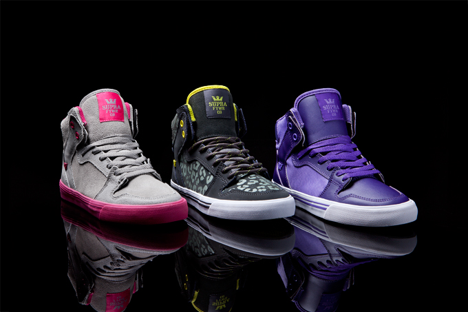 Supra Women's Footwear Collection - Holiday 2012