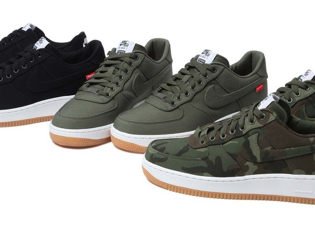 Supreme x Nike Air Force 1 Low - Release Date + Info
