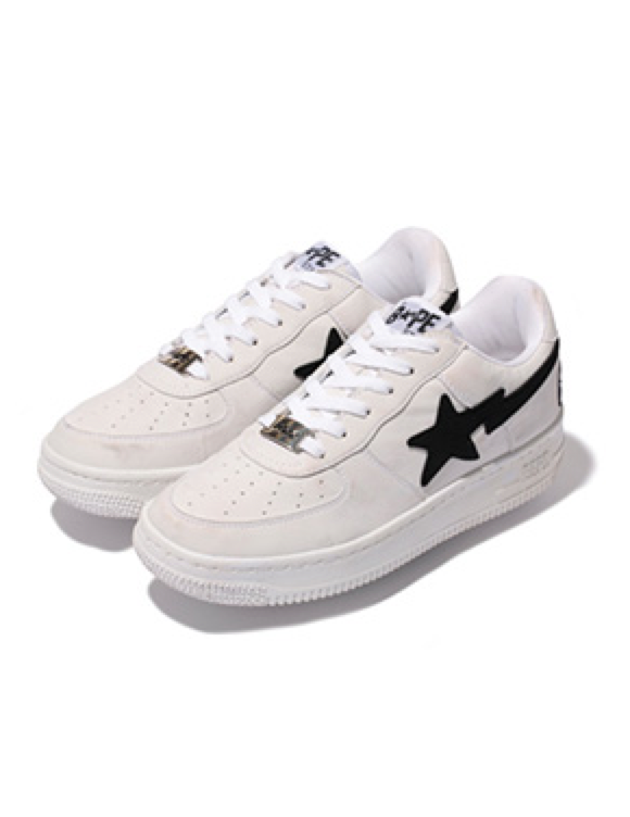 Release Reminder: A Bathing Ape Bapesta 'Black Friday' White