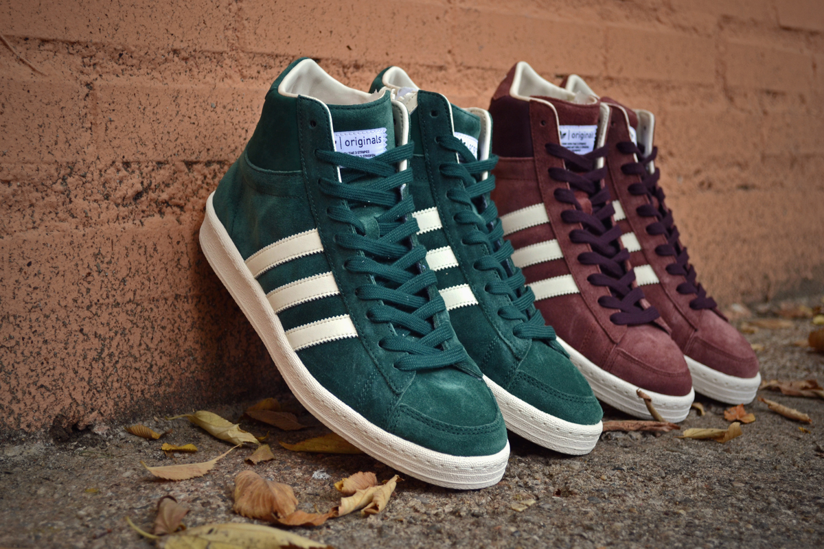 adidas Originals Blue AO Hook Shot - Fall/Winter 2012