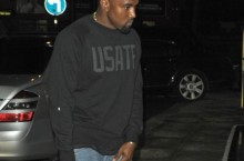 Celebrity Sneaker Watch: Kanye West Spotted in Nike Flyknit Trainer+