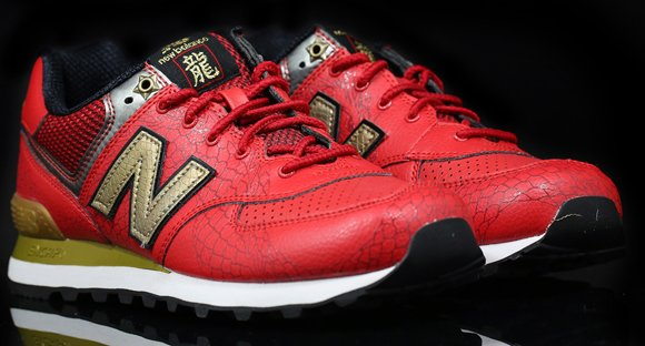 low priced 0c30b f04f3 New Balance 574 'Year of the Dragon' Pack (Black, Yellow ...