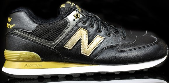 New Balance 574 year Of The Snake Black | Sole