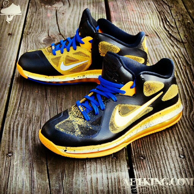 huge selection of ed563 3f7a6 ... GourmetKickz  nike-lebron-9-low-killer-bees-blue-in- ...