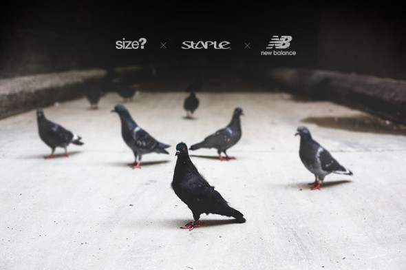 size? x Staple Design x New Balance 577 'Black Pigeon' - Worldwide Release Info