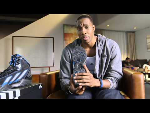 buy popular 03baf 2cca9 Video Dwight Howard Reviews the adidas adiPower Howard 3  Sn