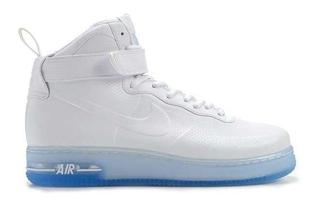 Release Reminder: Nike Air Force 1 Foamposite QS 'White/White'