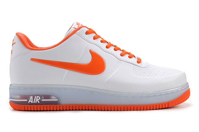 Release Reminder: Nike Air Force 1 Foamposite Pro Low QS 'White/Safety Orange'