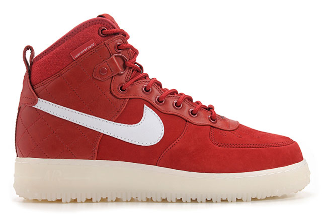 Nike Air Force 1 Duckboot QS  Gym Red White  - Release Date + Info ... 701d76d1c9