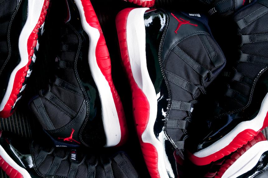 Air Jordan XI (11)  Black Varsity Red-White  - New Images  f566d7b4b90b