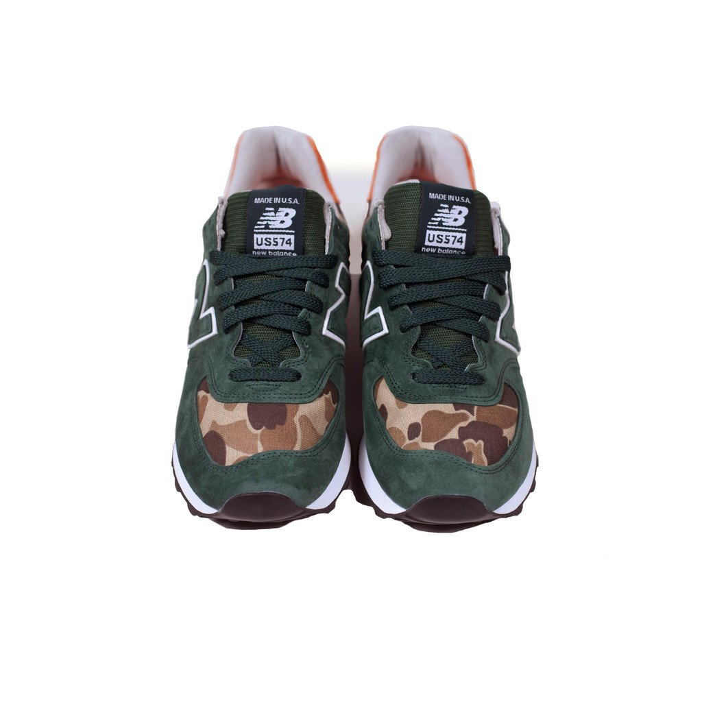 Ball and Buck x New Balance US574 'Mountain Green'