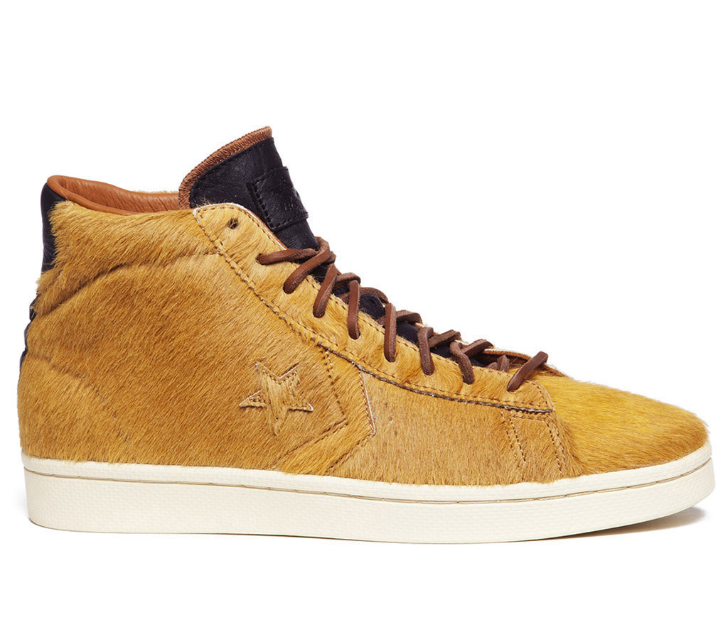 Bodega x Converse First String Pro Leather Pony Hair Mid 'Ride or Die' Restock