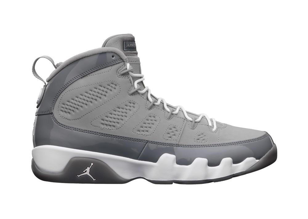 Release Reminder: Air Jordan IX (9) 'Cool Grey'
