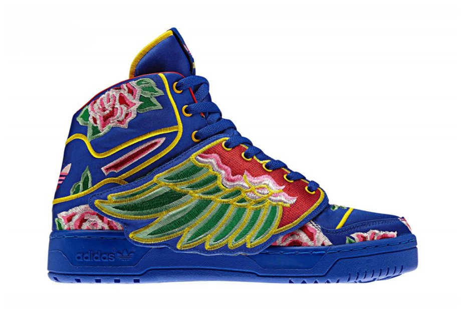 Eason Chan x adidas Originals by Jeremy Scott JS Wings