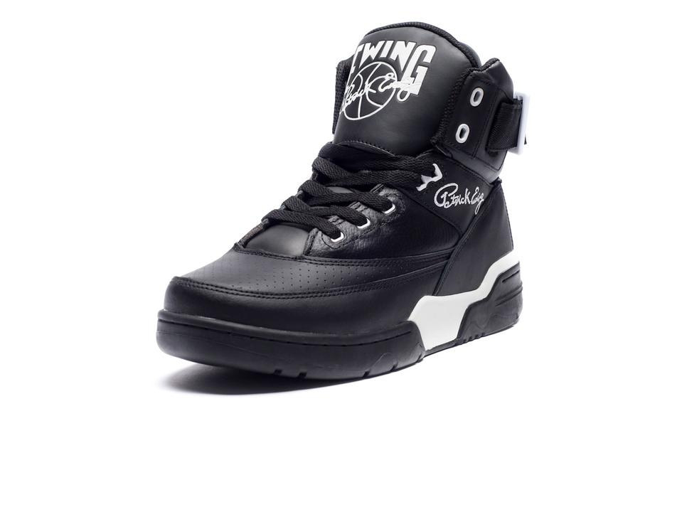 Ewing 33 Hi 'Black Leather' Restock at Undefeated