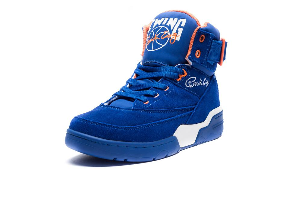 Ewing 33 Hi 'Blue Suede' Restock at Undefeated