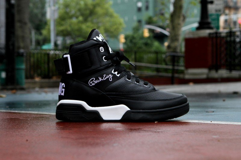 Ewing 33 Hi 'Black Leather' Restock at Kith NYC