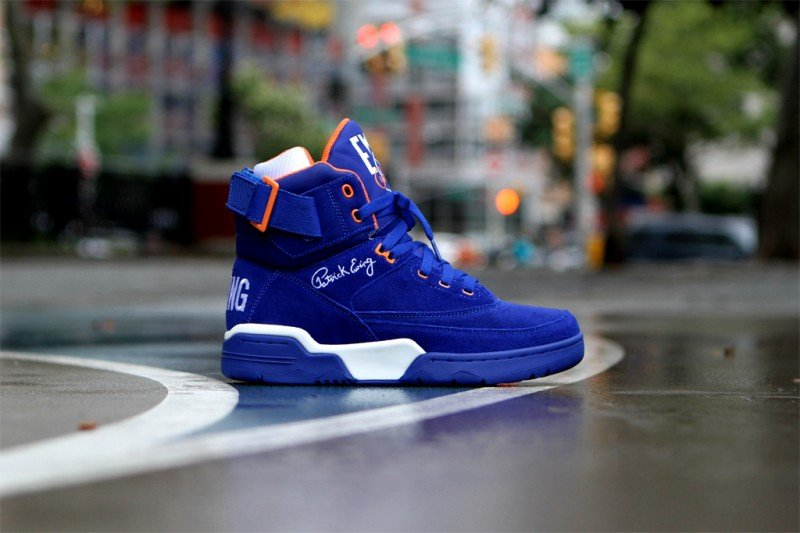 Ewing 33 Hi 'Blue Suede' Restock at Kith NYC
