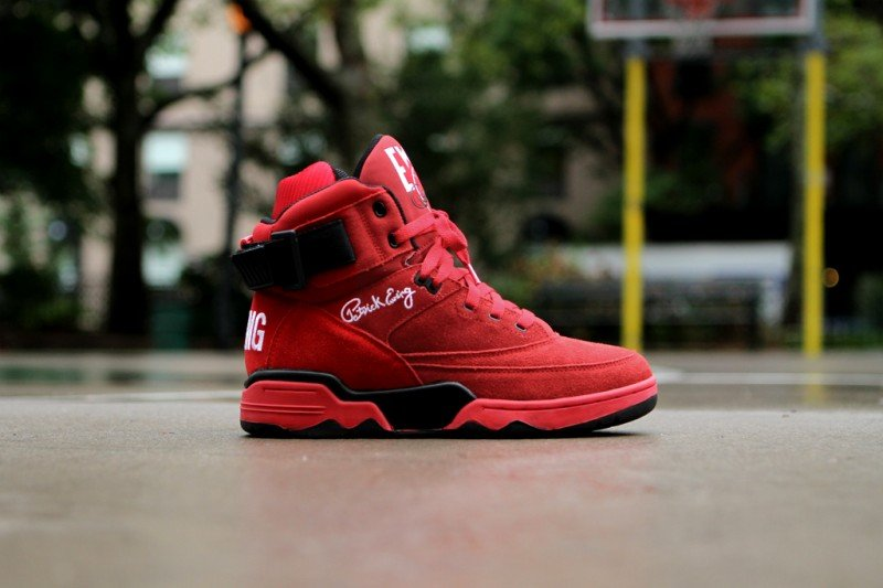 Ewing 33 Hi 'Red Suede' Restock at Kith NYC