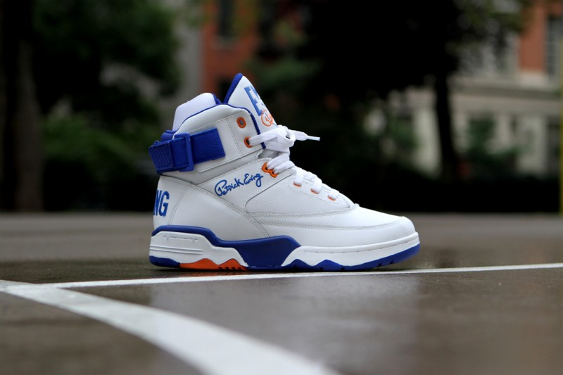 Ewing 33 Hi 'White Leather' Restock at Kith NYC
