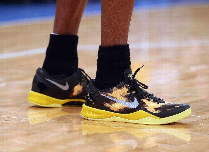 Kobe Debuts The Kobe 8 System 'Away' Shoe On-Court In NYC