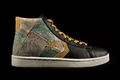 Release Reminder: Stussy NYC x Converse First String Pro Leather 'Camo'