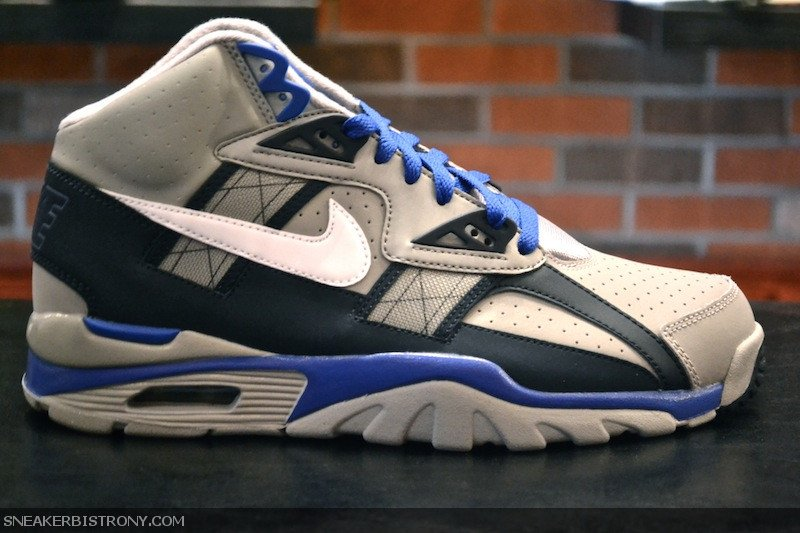 Nike Air Trainer SC High 'Medium Grey/White-Obsidian-Game Royal'