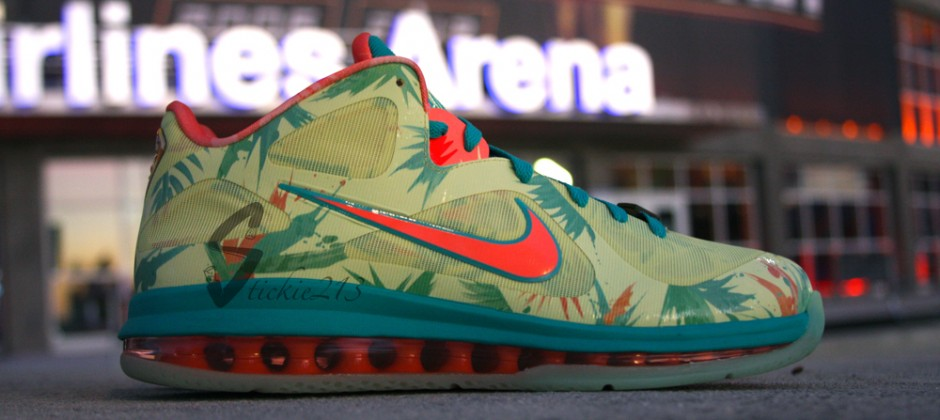 Nike LeBron 9 Low 'LeBronold Palmer' - Detailed Images