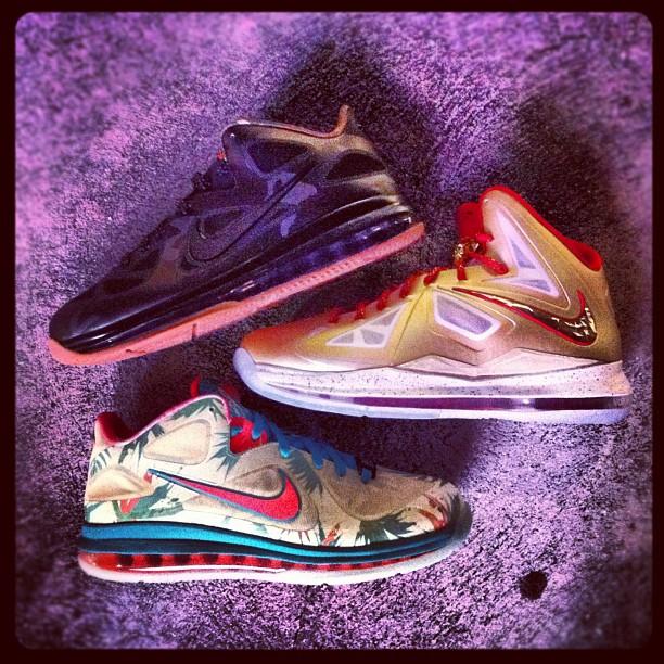 Nike LeBron 9 Low 'Camo'