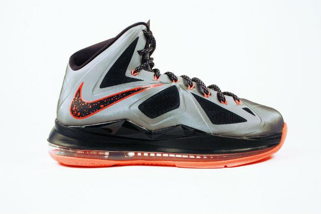 Nike LeBron X (10) 'Lava'