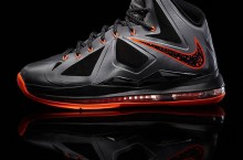 Nike LeBron X (10) 'Lava' – Official Images